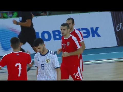Товарищеский матч. Россия - Сербия. 1 матч