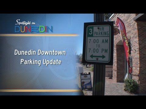 Dunedin Downtown Parking Update