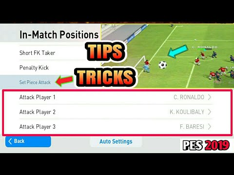 Tips and Trick for PES 2018 MOBILE | Set Piece Attack tips in Pes 2018