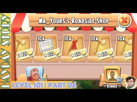 Where My Land Material Go After I Unlock All Fields in Hay Day Level 101   Part 04