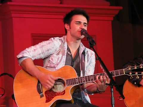 Kris Allen - Christmas Song - Mechanics Hall, Worcester, MA 12/07/09