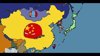 Historia China Countryballs 🇨🇳🇹🇼