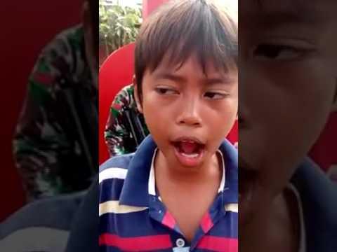 Aksi anak KECIL SUARA BURUNG KENARI