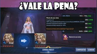 [Marvel Future Fight] ¿Vale la pena comprar a Emma Frost? Tier 2 Review | CDS#53
