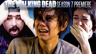 The Walking Dead: Season 7 Premiere Fan Reaction Compilation