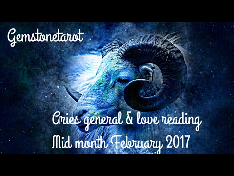 Aries tarot reading mid month February 2017 🙏✨celebration✨🙏