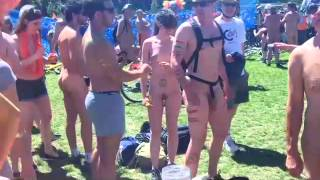The Brighton Naked Bike Ride 2014 [part 1]
