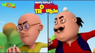 Motu Patlu in Double Trouble Part 01- Movie| Movie Mania - 1 Movie Everyday | Wowkidz