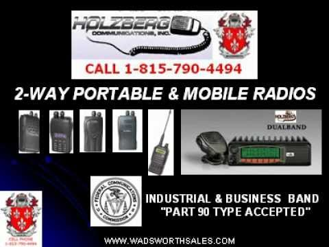 HOLZBERG 2 WAY RADIOS.avi