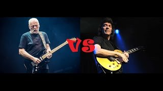 David Gilmour vs Steve Hackett
