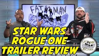 STAR WARS ROGUE ONE TRAILER REVIEW