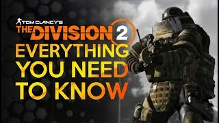 Division 2 - Every Tip You Need To Know