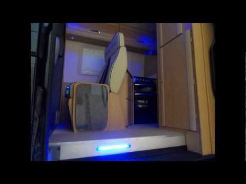MCLAREN SHADOW Luxury 4 Berth Mercedes Sprinter Motorhome
