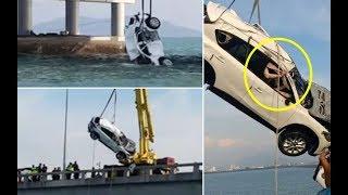 Video Viral : Mazda CX-5 SUV akhirnya dinaikkan di Jambatan Pulau Pinang