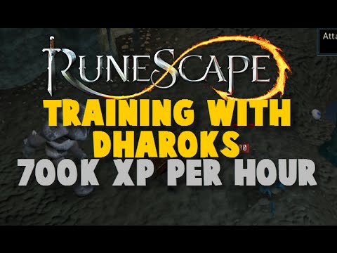 Training With Dharoks Guide: 700K Combat Xp Per Hour – iAm Naveed Runescape 2015