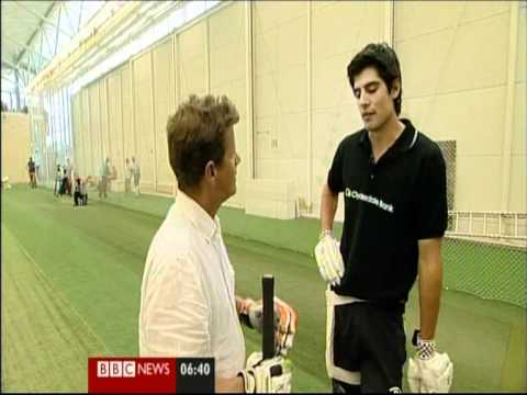 Alastair Cook Ambassador Appearance [Aug_2011]