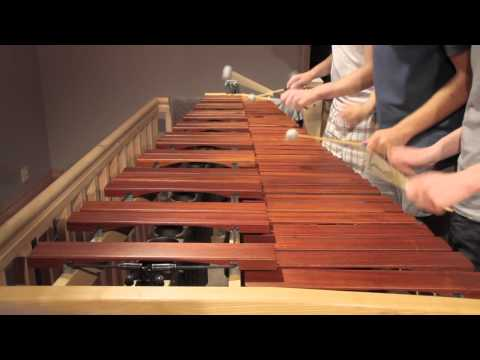 El tema de The Legend of Zelda en una marimba