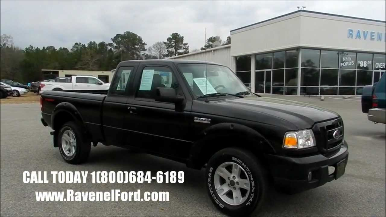2006 Ford Ranger Sport Supercab Review Charleston Truck
