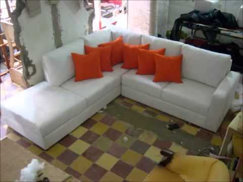 Catalogo muebles modernos sofas esquineros youtube for Muebles tapizados modernos