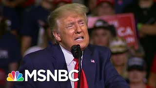 Storm Delays Trump New Hampshire Rally, Campaign Official Says Trump Avoiding Tulsa Repeat | MSNBC