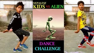 Nepalese Kids vs Alien Dance Challenge 2018 | Crazy Frog | ASquare Crew |Abhay n Aayush