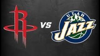 NBA Playoffs Utah Jazz Houston Rockets Live Stream and Play by Play Reaction