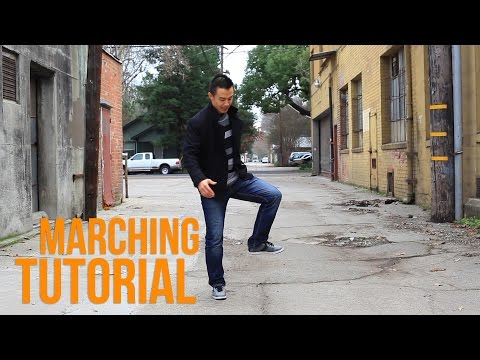 How to Breakdance | Marching | Top Rock Basics