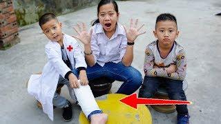 Trò Chơi Người Chị Thiên Vị - Học Cách Thương Yêu Nhau - Bé Nhím TV - Đồ Chơi Trẻ Em Thiếu Nhi