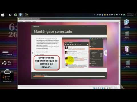 Tutorial para instalar Ubuntu 11.10 dentro de Windows 7/ How to Install Ubuntu in Windows 7.