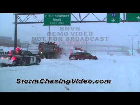 12/11/2010  Minneapolis St Paul MN Metro area blizzard