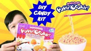 KRACIE POPIN COOKIN - Tanoshii Ramen (DIY Japanese Candy Kit) Ramen Noodle Candy?!
