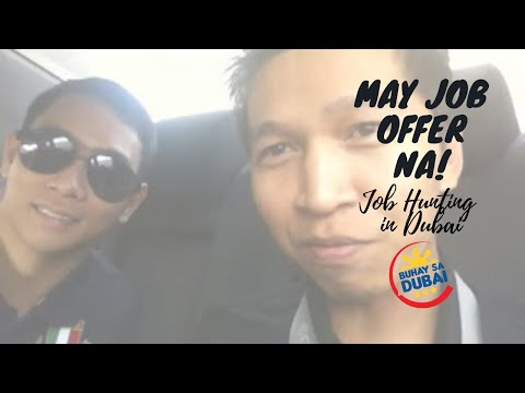 Buhay sa Dubai || Pinoy Job Applicant / Job Offer!