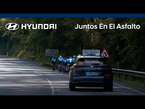 Hyundai ofrece un coche de apoyo para ciclistas