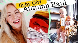 Baby Girl Autumn Outfits HAUL | Vintage Style Children's Clothes | SJ STRUM