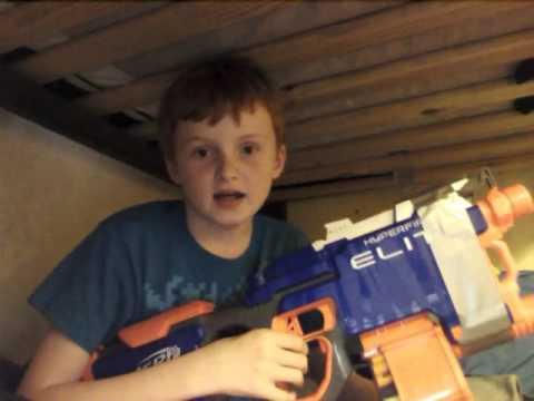 Review: Nerf n strike elite hyperfire (my first video!)