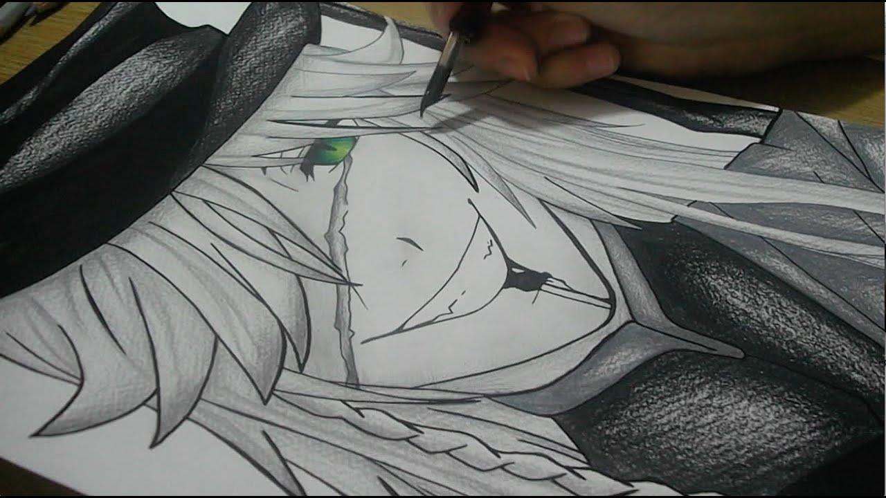 Black Butler Drawings Drawing Undertaker From Black