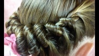 Spiral Braid Ponytail, Twist Hairstyles