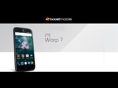 boost mobile zte warp 7 review had