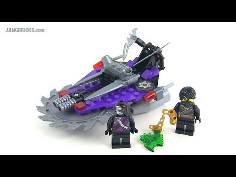 LEGO Ninjago 2014 Hover Hunter 70720 full Review!