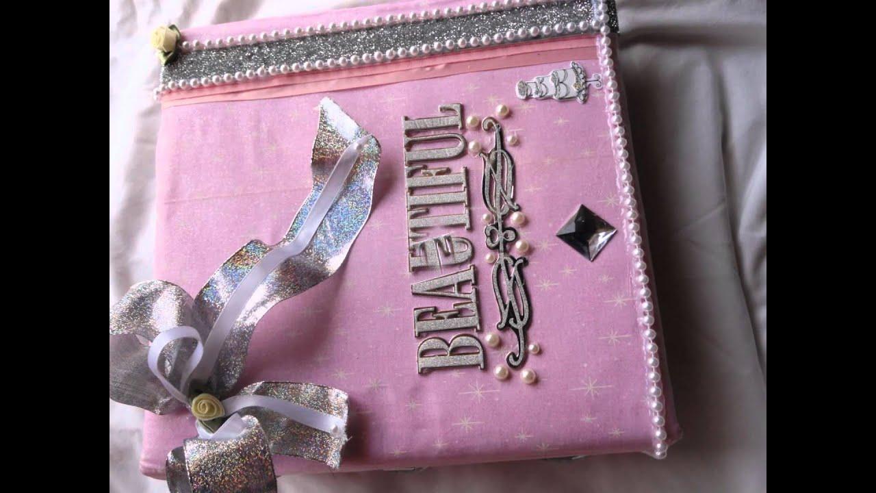 Album de boda y quince era libro de firmas youtube - Decoracion de album de fotos ...