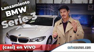 BMW Serie 3 (G20)  Lanzamiento en Argentina (casi) en Vivo