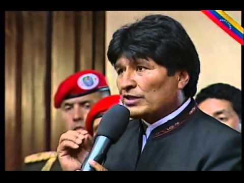 Sepelio del Comandante Chávez parte 12: Discurso de Evo Morales