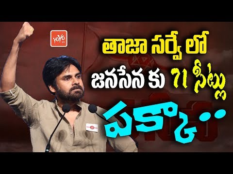 Janasena To Win 71 Seats In 2019 AP Elections Says Latest Survey | Pawan Kalyan | YOYO TV Channel