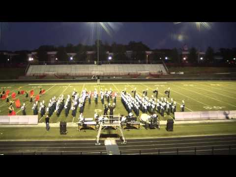 """Collins Hill High School Marching Band 2014 """"Voodoo"""" at White Columns Invitational"""