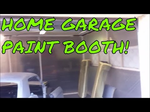 Building a Home Garage Paint Booth - Prepping for Paint