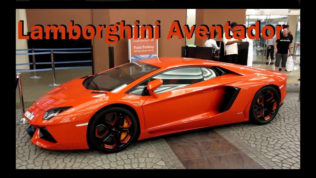 Lamborghini Aventador LP700-4 - blood orange with black ...