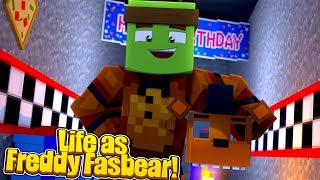 LIFE AS FREDDY FASBEAR! - Minecraft Life w/TinyTurtle
