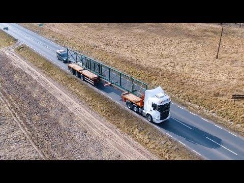 Transport Bramy 25m - Express Bud Trans - Transport Ponadgabarytowy Www.nadgabaryty.com
