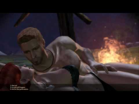 Dragon Age: Origins - First Night with Alistair - Modded Scene - PC initiates - Theseus Body