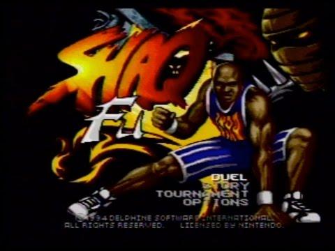 Shaq Fu (Super Nintendo) AVGN episode segment